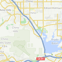 Lazy Wed Route 31 miles - A bike ride in Chino Hills, CA Chino Hills California Map on