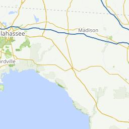 Steinhatchee Fl To Perry Fl Via Keaton Beach Fl 43 Miles A